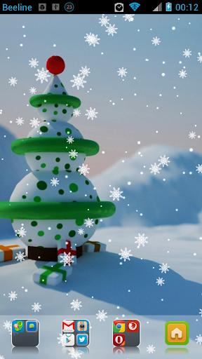 Snowmen Live Wallpaper