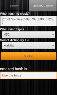 Hash Decrypt Screenshot