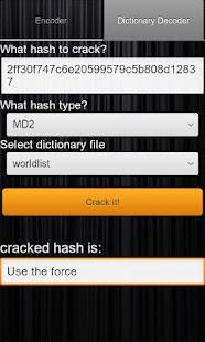 Hash Decrypt Screenshot