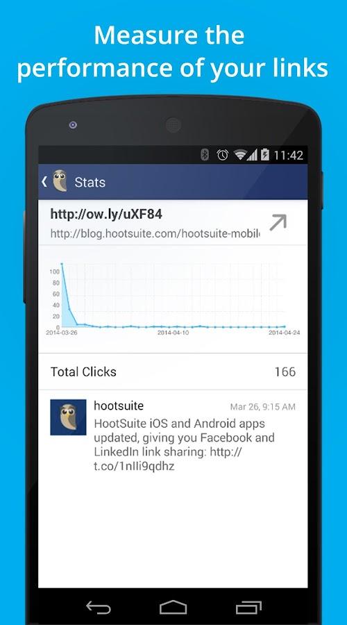 Hootsuite (Social Media Mgmt) - screenshot