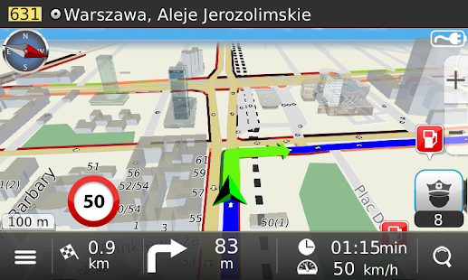 Navigation MapaMap Poland- screenshot thumbnail