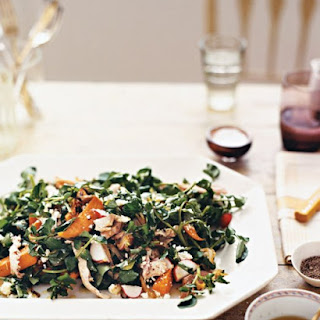 Turkey, Sweet Potato, and Watercress Salad