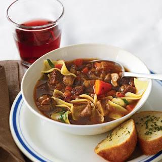 Boeuf Bourguignon Soup