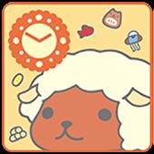 KAPIBARA-SAN Clock Widget09