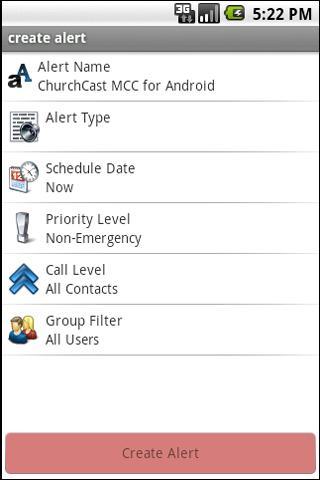 ChurchCast- screenshot