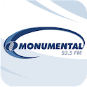Radio Monumental 93.5 FM logo