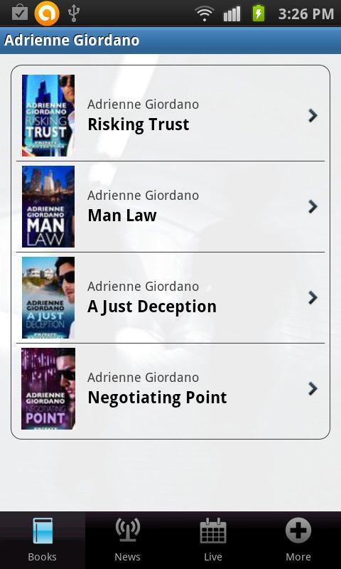 Adrienne Giordano - screenshot