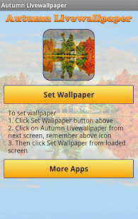 Autumn Live Wallpaper - screenshot thumbnail