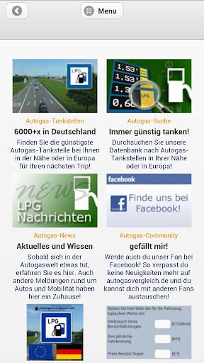 Autogasvergleich.de WebApp LPG