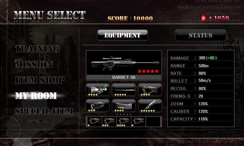 Ghost Sniper : Zombie - screenshot