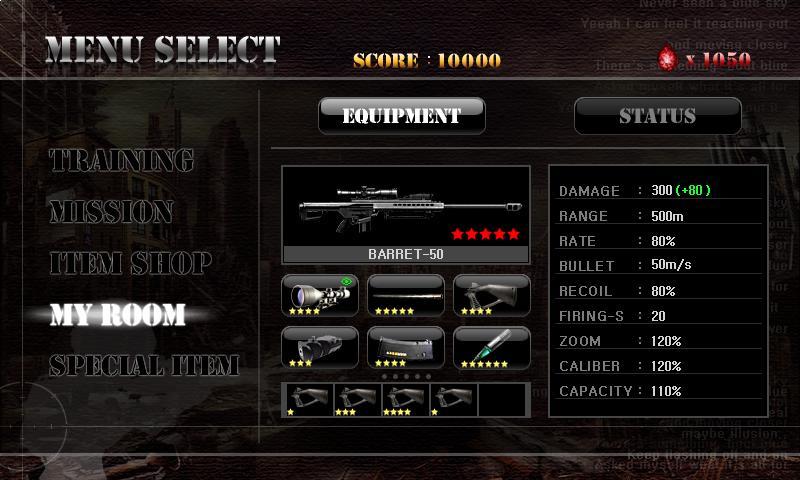 Ghost Sniper : Zombie - screenshot