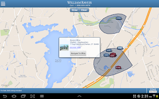 Screenshot of William Raveis Real Estate
