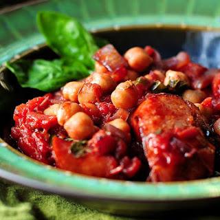 Italian Sausage Garbanzo Beans