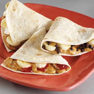 P. Nutty Quesadillas.