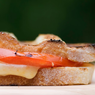 Grilled Cheese Sandwiches on the Actual Grill…and Hildene!