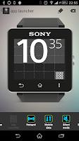 Screenshot of AppLauncher for SmartWatch