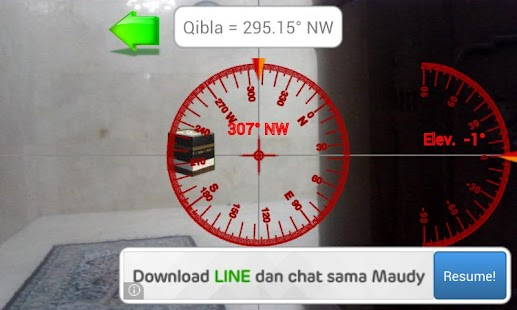 Camera Qibla- screenshot thumbnail