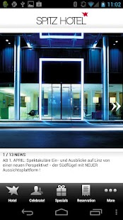 SPITZ hotel LINZ- screenshot thumbnail