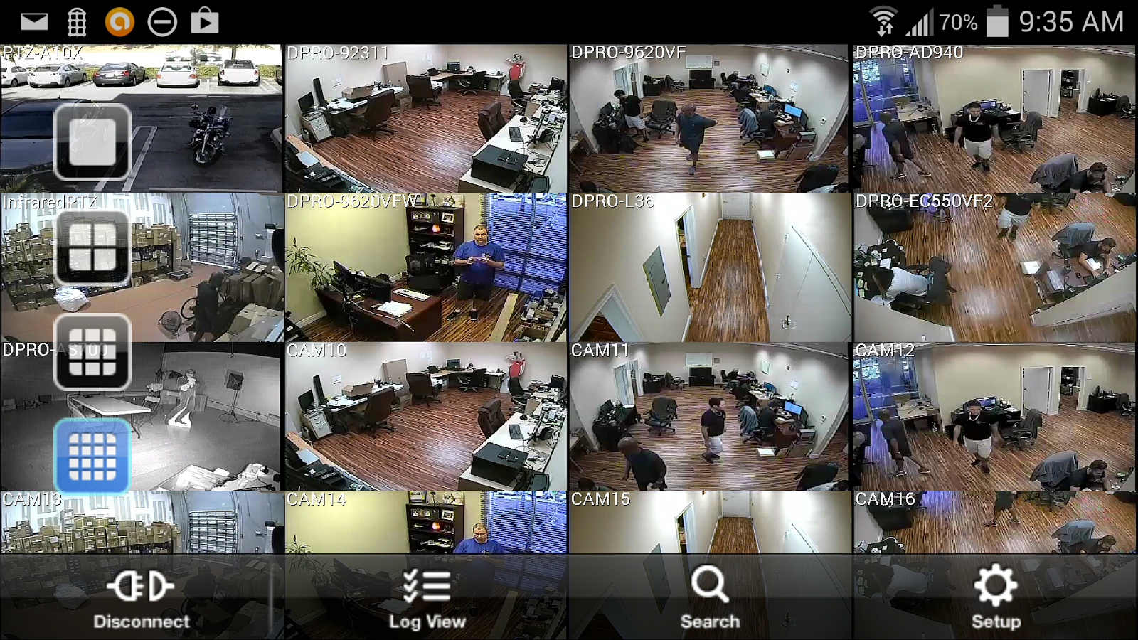 iDVR-PRO Viewer: CCTV DVR App- screenshot