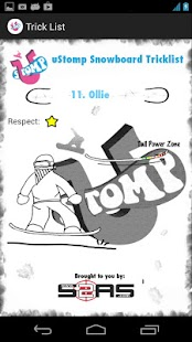 Snowboard Trick List - screenshot thumbnail