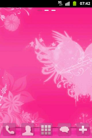 GO Launcher Pink Hearts Buy