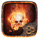 Flame Skull GO Launcher Theme icon