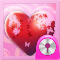 Theme Hearts for GO Locker icon