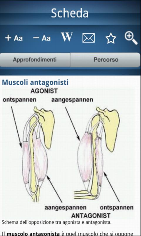 Encyclopedia of anatomy- screenshot