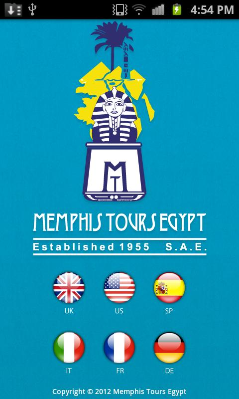 Memphis Tours Egypt - screenshot