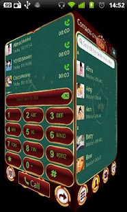 GO Contacts Casino theme - screenshot thumbnail