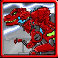 Dino Robot - Tyranno Red 1.40
