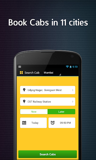 App for All Taxi Cabs India
