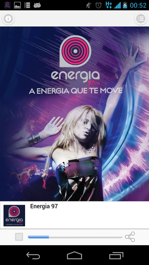 Energia 97 FM - screenshot