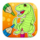 Dinosaurs Coloring Game