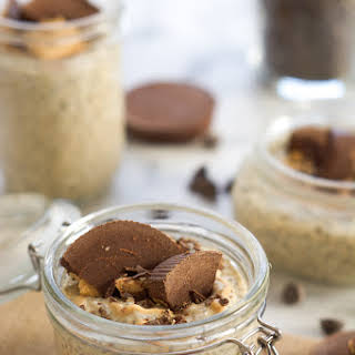 Peanut Butter Cup Chia Seed Pudding.