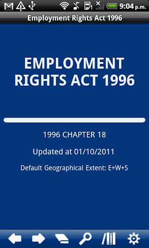 Employment Rights Act 1996