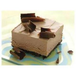 Frozen Chocolate Mousse Squares.