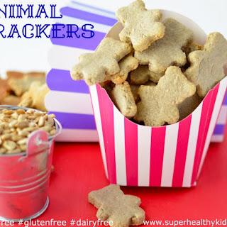 Animal Crackers {Nut Free, Dairy Free, Gluten Free}.