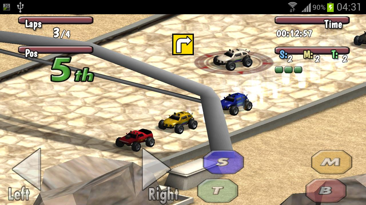 Time to Rock Racing Demo- screenshot