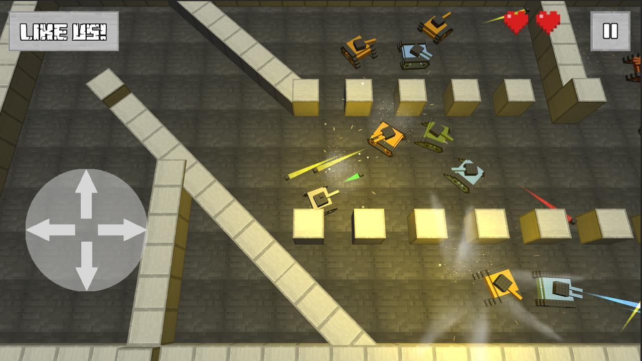 Tải Game Craft Tank v1.44.0 Hack Full Vàng Cho Android