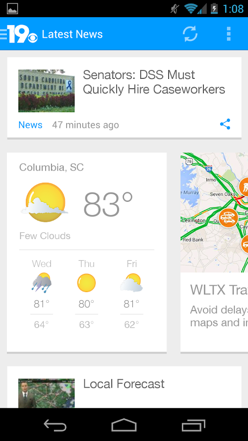 WLTX - screenshot
