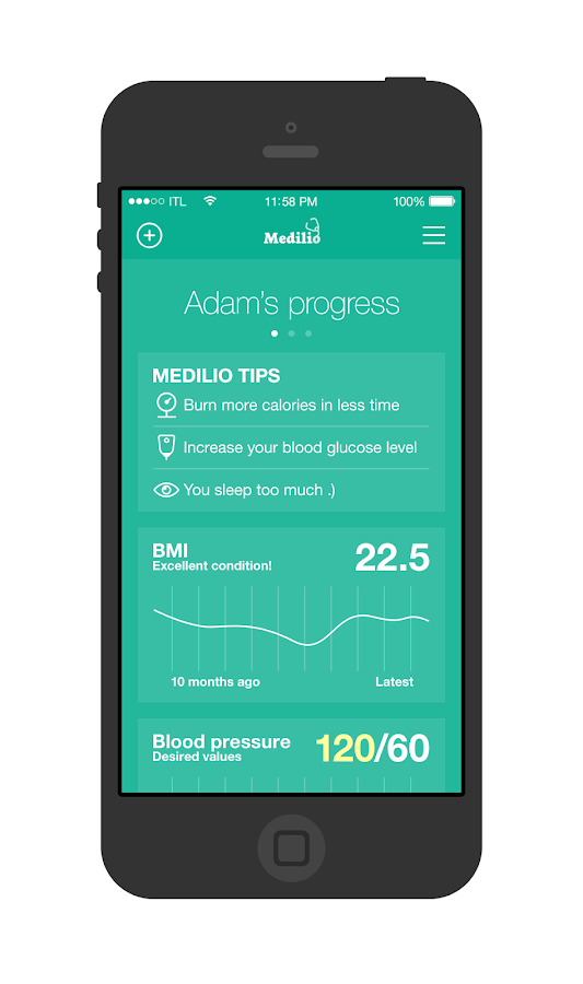 Medilio- screenshot
