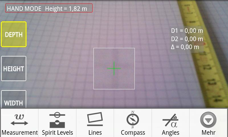 Telemeter - camera measure - screenshot