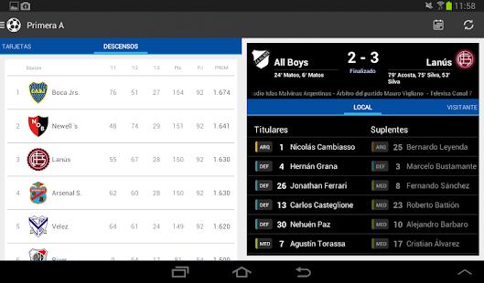 Liga Argentina de Fútbol Screenshot 20