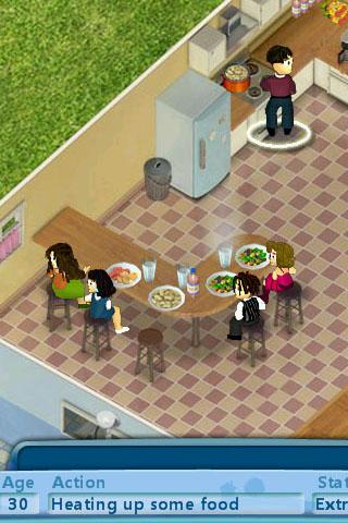 Virtual Families- screenshot