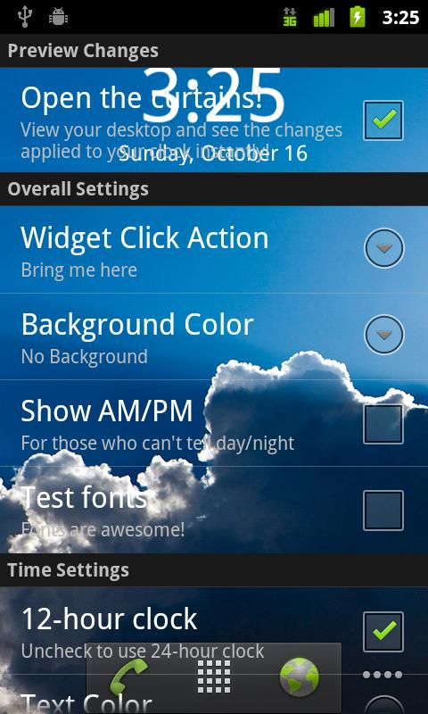 Digital Clock Widget- screenshot