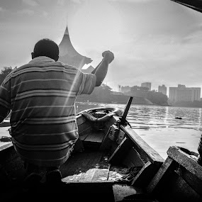 My Tambang by Papin Michael - Novices Only Portraits & People ( boat man,  )