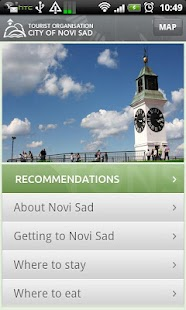 Novi Sad City Guide Lite - screenshot thumbnail