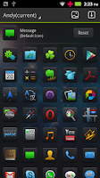 Screenshot of (FREE)Andy GO Launcher Theme