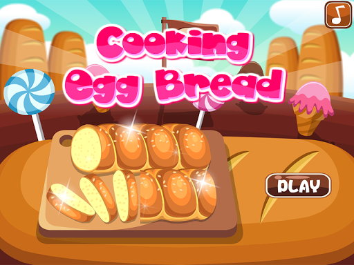 Cooking Egg Bread